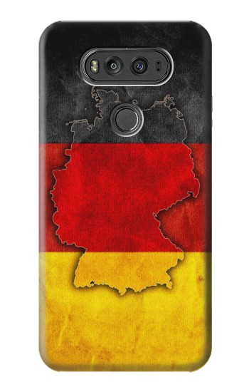 Printed Germany Flag Map LG G Flex 2 Case