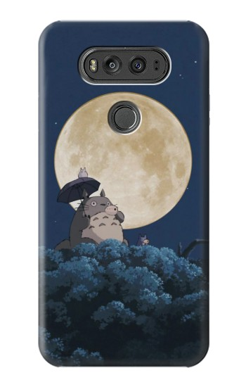 Printed Totoro Ocarina Moon Night LG G Flex 2 Case