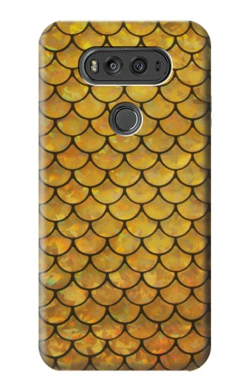 Printed Gold Fish Scale LG G Flex 2 Case