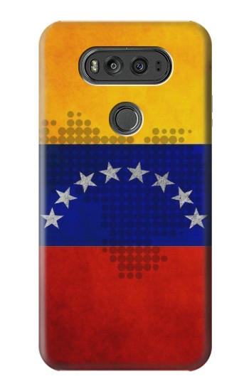 Printed Venezuela Map Flag LG G Flex 2 Case