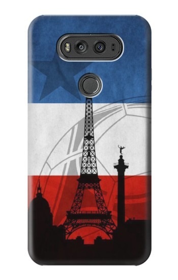 Printed France Football Flag LG G Flex 2 Case
