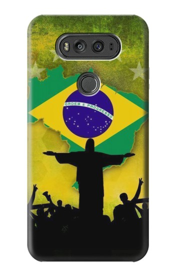 Printed Brazil Football Flag LG G Flex 2 Case