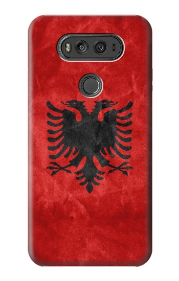 Printed Albania Red Flag LG G Flex 2 Case