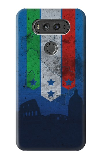 Printed Italy Football Flag LG G Flex 2 Case