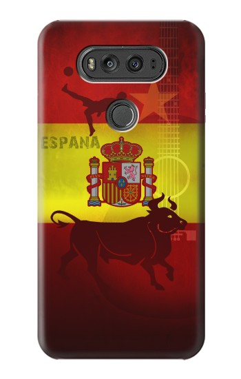 Printed Spain Football Flag LG G Flex 2 Case