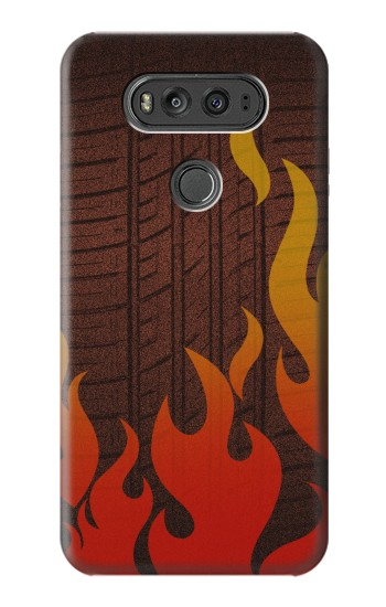 Printed Rally Car Tire LG G Flex 2 Case