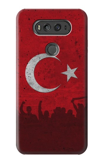 Printed Turkey Football Flag LG G Flex 2 Case
