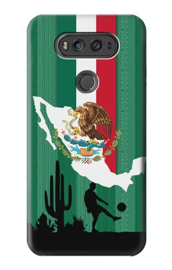 Printed Mexico Football Flag LG G Flex 2 Case