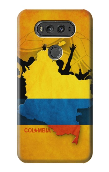 Printed Colombia Football Flag LG G Flex 2 Case