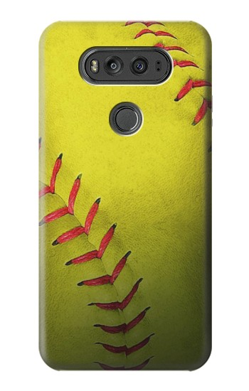 Printed Yellow Softball Ball LG G Flex 2 Case