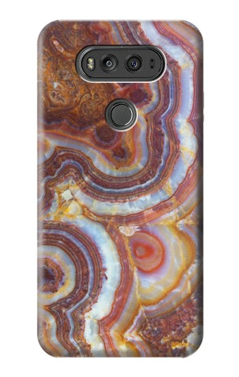 Printed Colored Marble Texture Printed LG G Flex 2 Case