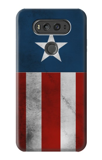 Printed Captain Star Flag of America LG G Flex 2 Case