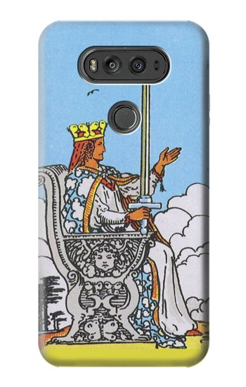 Printed Tarot Card Queen of Swords LG G Flex 2 Case