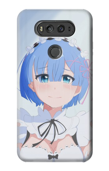 Printed Rem Beautiful Smile Re Zero kara Hajimeru Isekai Seikatsu LG G Flex 2 Case