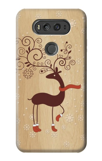 Printed Wooden Raindeer LG G Flex 2 Case