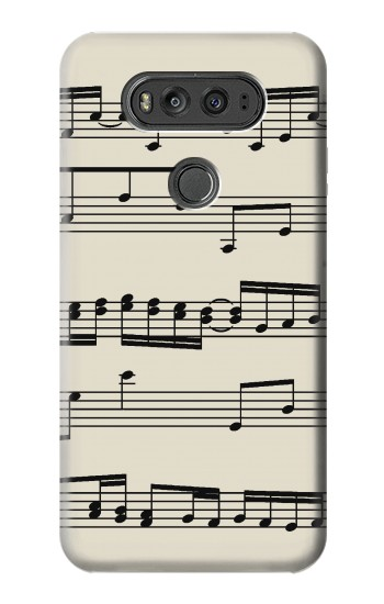 Printed Music Sheet LG G Flex 2 Case