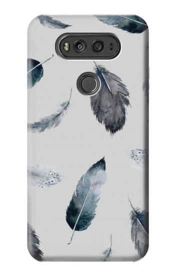 Printed Feather Paint Pattern LG G Flex 2 Case