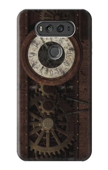 Printed Steampunk Clock Gears LG G Flex 2 Case
