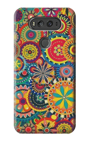 Printed Colorful Pattern LG G Flex 2 Case
