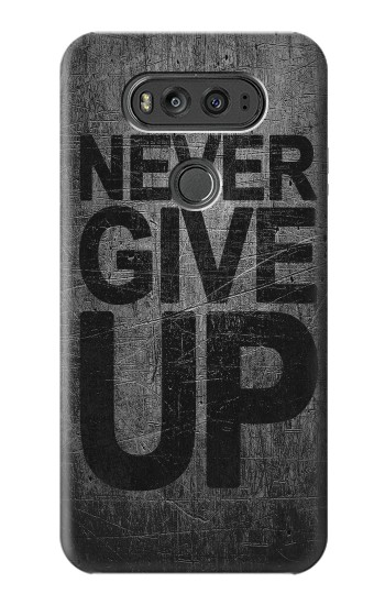 Printed Never Give Up LG G Flex 2 Case