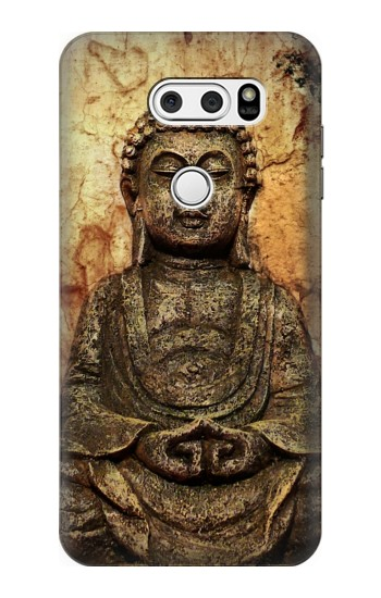Printed Buddha Rock Carving LG L90 D405 Case