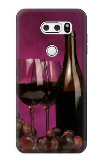 Printed Red Wine LG L90 D405 Case