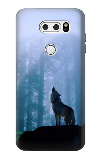 Printed Wolf Howling in Forest LG L90 D405 Case