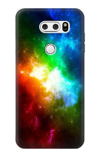 Printed Colorful Rainbow Space Galaxy LG L90 D405 Case