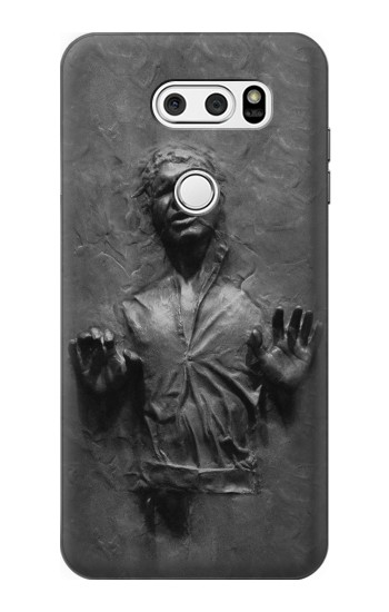 Printed Han Solo Frozen in Carbonite LG L90 D405 Case
