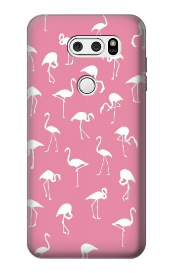 Printed Pink Flamingo Pattern LG L90 D405 Case
