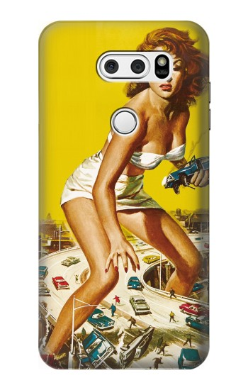 Printed Attack of the 50 Foot Woman LG L90 D405 Case