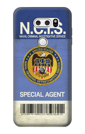 Printed NCIS Badge ID Card LG L90 D405 Case