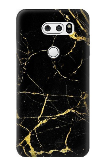 Printed Gold Marble Graphic Printed LG L90 D405 Case