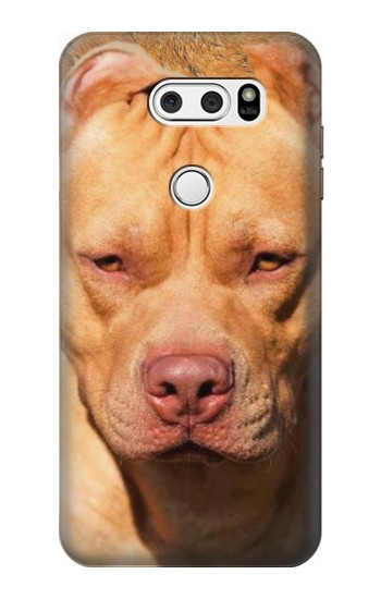Printed American Pitbull Dog LG L90 D405 Case