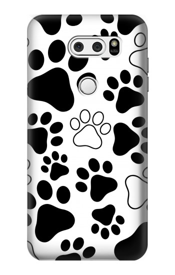 Printed Dog Paw Prints LG L90 D405 Case