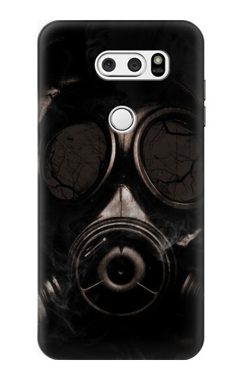 Printed Gas Mask LG L90 D405 Case