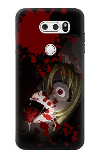 Printed Creepy Blood Splatter LG L90 D405 Case