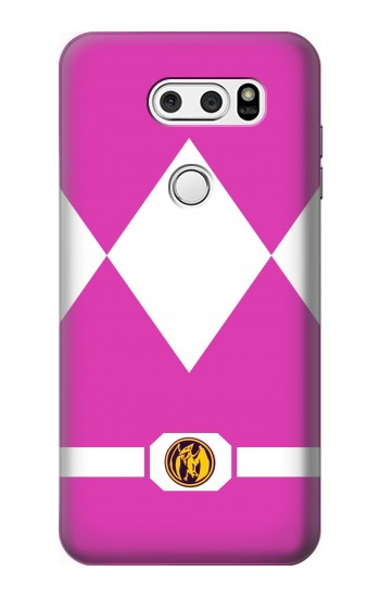 Printed Ladies Pink Mighty Morphin Power Ranger Minimalist LG L90 D405 Case