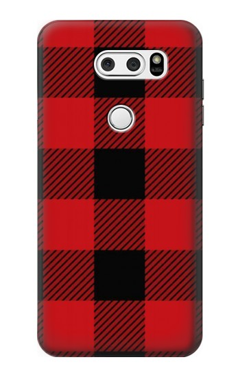 Printed Red Buffalo Check Pattern LG L90 D405 Case