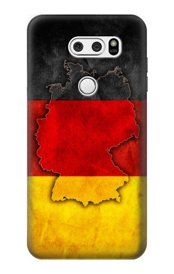 Printed Germany Flag Map LG L90 D405 Case