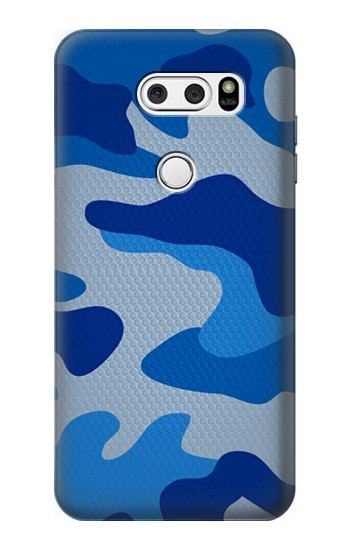 Printed Army Blue Camouflage LG L90 D405 Case