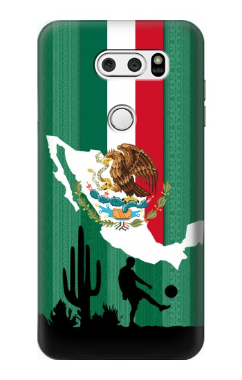 Printed Mexico Football Flag LG L90 D405 Case