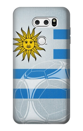 Printed Uruguay Football Flag LG L90 D405 Case