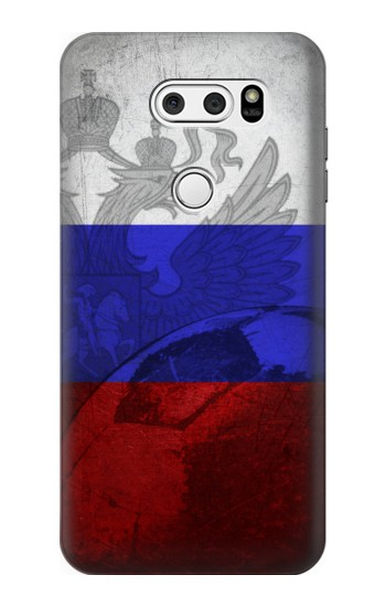 Printed Russia Football Flag LG L90 D405 Case