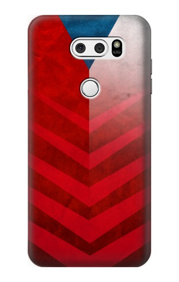 Printed Czech Republic Football Flag LG L90 D405 Case