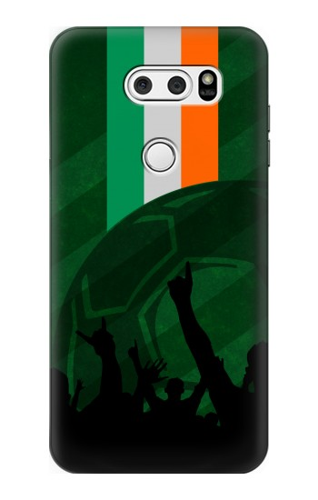 Printed Ireland Football Flag LG L90 D405 Case
