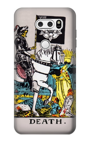 Printed Tarot Card Death LG L90 D405 Case