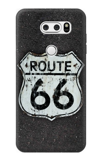 Printed Route 66 Sign LG L90 D405 Case