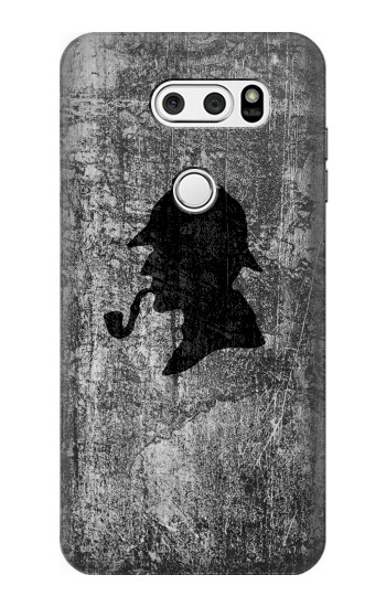 Printed Sherlock Holmes Silhouette LG L90 D405 Case