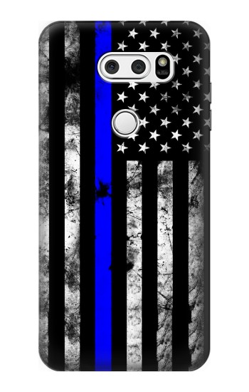 Printed Thin Blue Line USA LG L90 D405 Case